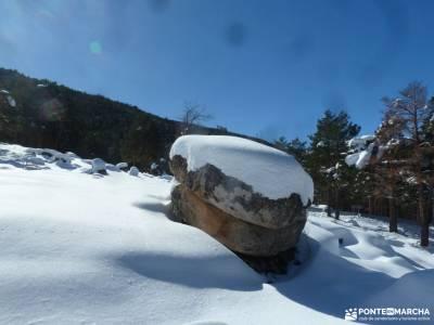 Ladera Mojonavalle-Bosques Canencia;montañas alicantinas valle glaciar ayllon medieval